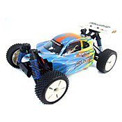 01:16 skala 4wd elektrisk drevet off-road RC langrenn racing bil radio fjernkontroll (yx01295)
