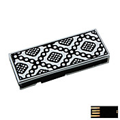 Duplicative Diamond-shaped Jewelry USB Flash Drive - Optional Memory From 2 GB to 16 GB (SMQ4674)
