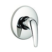 Single Handle Chrome Wall-mount Shower Faucet 0571-QL-200801E