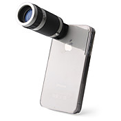 Teleskop 6X Zoom Kamera + Cover Holder Til iPhone 4 / 4S