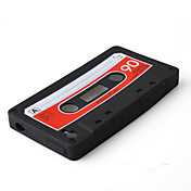 Case Silicone para iTouch 4 - Cassette (Preto)