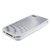 Etui de Protection Style Goutte d'Eau en TPU pour iPhone 4 - Transparent