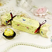 """Sweet Spring"" Candy Wrapper Favor Box (Set of 12)"