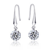 925 Sterling Silver With Platinum Plating Earrings
