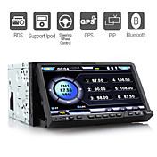7 Inch Car DVD Player with GPS  ISDB-T Detachable Panel