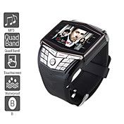 Ultra Thin - 1.5 Inch Watch Cell Phone (QuadBand, MP3 Mp4 Player, Waterproof)