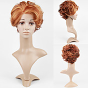 Lace Front Short High Quality Synthetic Golden Brown Curly Hair Wig