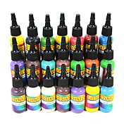 21 tatuaje de tinta color 15ml conjunto 21 *