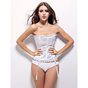Satin Strapless Corsets Wedding/ Special Occasion Shapewear