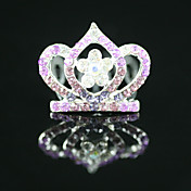 Gorgeous CZ Cubic Zirconia Wedding Flower Girl Tiara More Colors Available