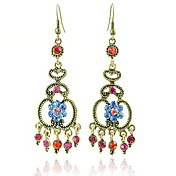 Antique Bronze-plated Bohemia Earring