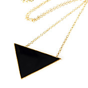 50mm*30mm Gold Alloy Necklace