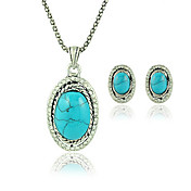 Elegant Earrings and Necklace Jewelry Set