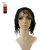 Full Lace Short Water Wave 100% India Reme Hair Wig Multiple Colors To Choose