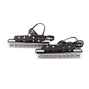 carro de circulao diurna Light / nevoeiro (2 pcs, 8 oval led)
