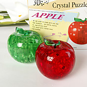 3D Crystal Puzzle - Apple (Flash Not Included)