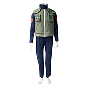 cosplay costume ispirato da naruto Konohagakure jonin uniforme