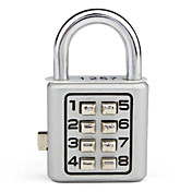 8-Digit Push-button Zinc alloy Combination Lock