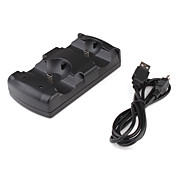 2-in-1 contrleur de station d'accueil recharge pour passer ps3