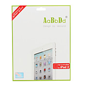 High Transparency Screen Protector with Cleaning Cloth for Apple iPad 2 and The new iPad