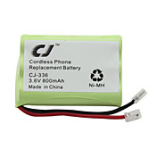 3.6v 800mAh remplacement de tlphone sans fil batterie Ni-MH-336 CJ