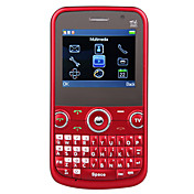 redberry - tredobbelt sim 2,2 tommer qwerty tastatur mobiltelefon (TV, FM-, g-sensor)