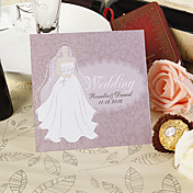 Invitation Card - Pretty Bride (Set of 50)
