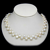 Elegant 8-9MM Pearl Necklace – 16 Inch