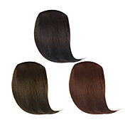 Clip in Synthetic Side Bang 3 Colors Available