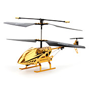 3.5-Channel RC Helicopter with Gyroscope (Golden)