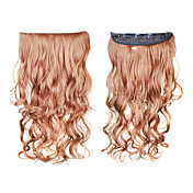clip in synthetisch krullend hair extensions met 5 clips - 6 kleuren beschikbaar