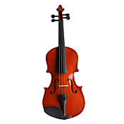 Glossy Spruce Violin with Case/Bow/Rosin (Multi-Size)