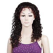 Lace Front With Adjustable Strap At Back Fashion Curl 20 inch Indian Remy Lace Wig 26 Colors Available