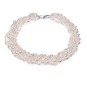 Chic Freshwater Pearl Luxurious Ladies' Necklace More Colors Available (50cm)