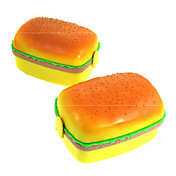 Hamburger Shape Lunch Boxes