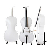Solid Wood Cello with Stand (Italian Style,with)