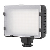 5600K 76-LED White Light Video Lamp with Filters for Camera