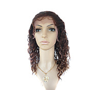 Lace Front Medium Long Curly 100% India Reme Hair Wig Multiple Colors Available