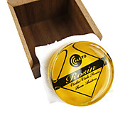 Yellow Rosin with Hard Case for Violin/Viola/Cello in 20 gram