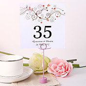 Personalized Square Table Number Card - Branch
