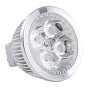 GU5.3 4W 320-360LM 2800-3200K Warm White Light LED Spot Bulb (12V)