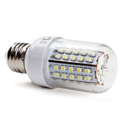 E27 66x3528 SMD 3.5W 430LM 5500-6500K Natural White Light LED Corn Bulb (230V)