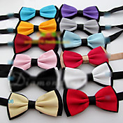 Men's Solid Color Classical Bowtie