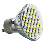 GU10 3.5W 60x3528 SMD 150-180LM 6000-6500K Natural White Light LED Spot Bulb (230V)
