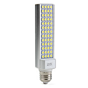 E27 9W 52x5050 SMD 520-600lm 5500-6500k naturlig hvitt lys ledet mais pre (110-240V)