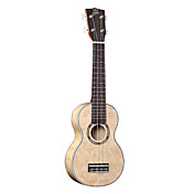 Ella - (UK-2102) Bird Maple Soprano Ukulele