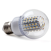 E27 3.5W 400-430LM 2800-3200K Warm White Light LED Ball Bulb (220-240V)