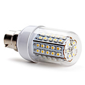 B22 66x3528 SMD 3.5W 430LM 2800-3200K Warm White Light LED Corn Bulb (220-240V)