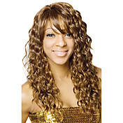 Lace Front Long High Quality Synthetic Curly Blonde Hair Wig