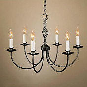 Modern Chandeliers with 6 Lights Candle Featured